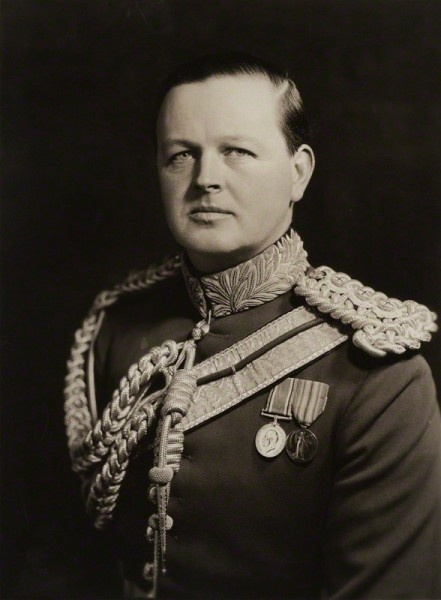 "John Albert William Spencer-Churchill, 10th Duke of Marlborough (Nov 1934); shortly after assuming the title. He was the son of Consuelo Vanderbilt and ""Sunny"" Charles Richard John Spencer-Churchill, 9th Duke of Marlborough."