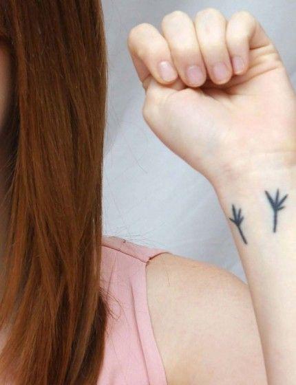 emma stone blackbird tattoo by paul mccartney