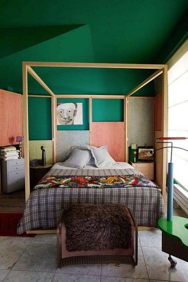 Best Green Ceiling Paint Ideas On Pinterest Cottage Style