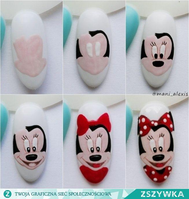 Zobacz zdjęcie Jak stworzyć Minnie Mouse ;) instagram @mani_alexis w pełnej rozdzielczości