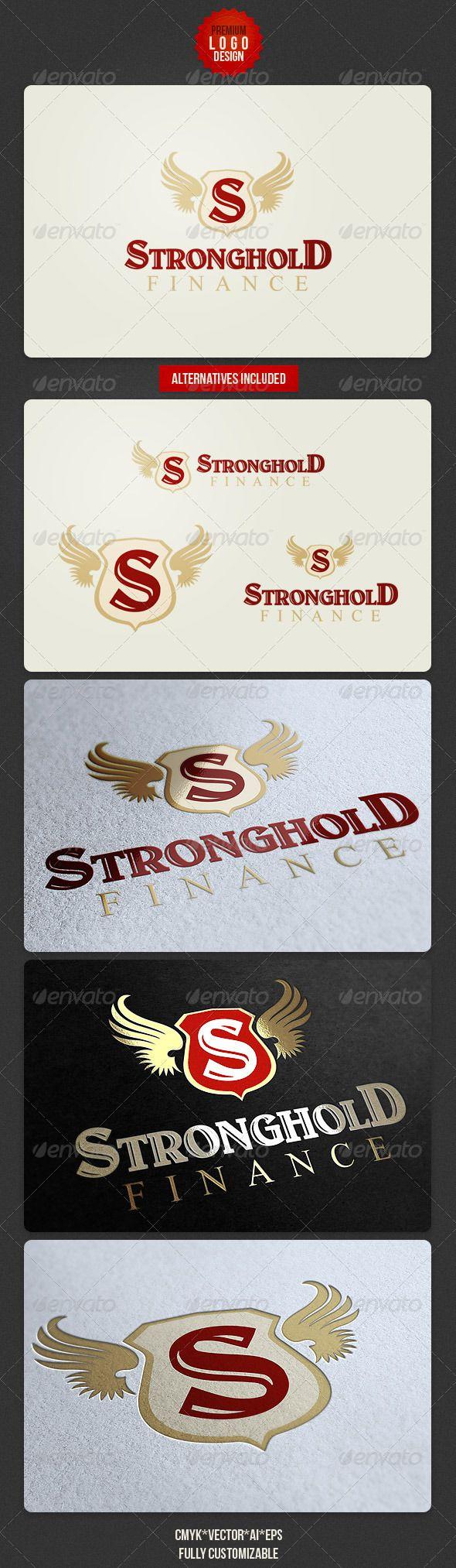 Finance Retro Logo Design