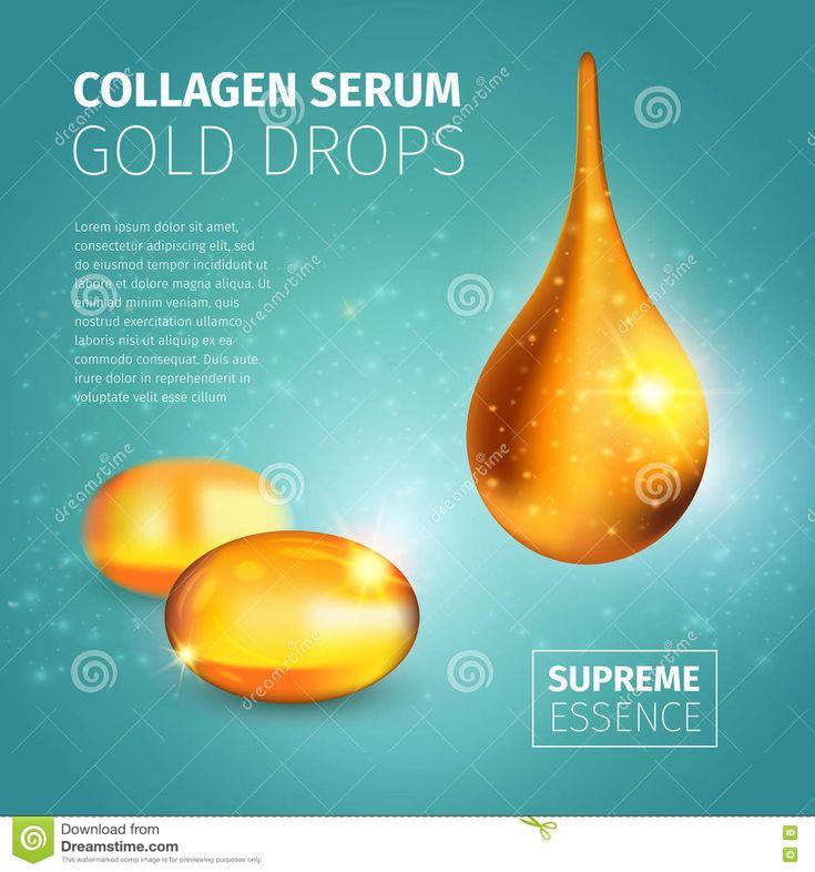 Collagen Serum Poster