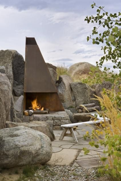 Image by RE/MAX PURE on Private Culdesac Ranch with ... |Dude Ranch Fire Pit