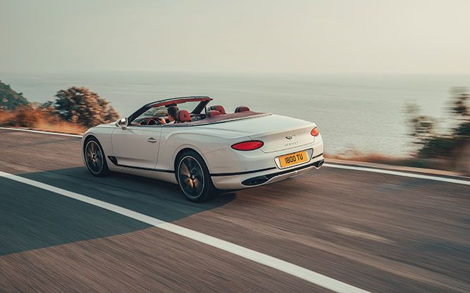 Bentley Continental Gt Convertible Lanzamiento Oficial Auto Bild In 2020