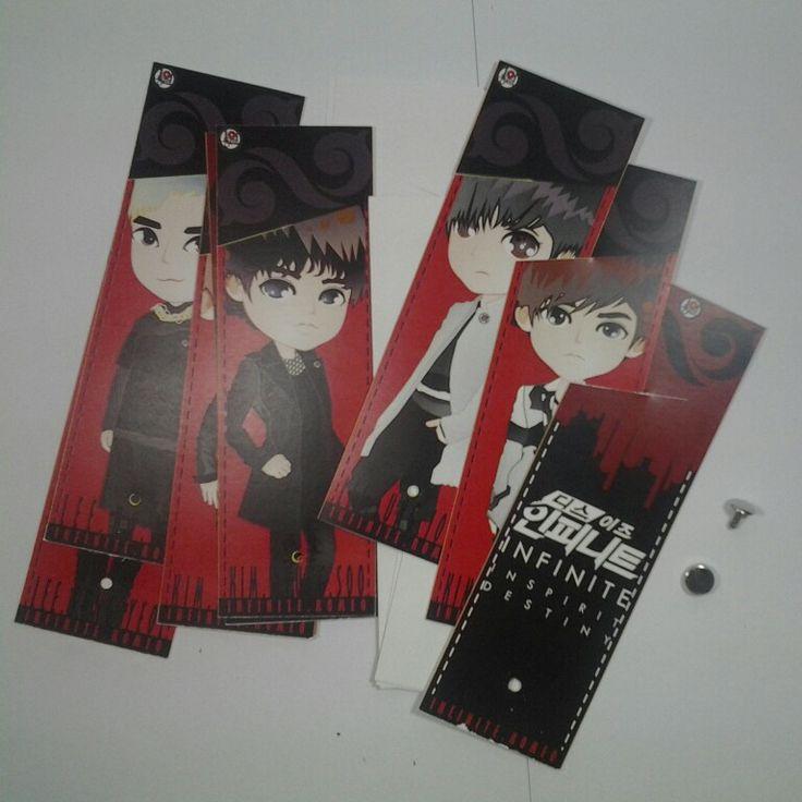 INFINITE Bookmarks
