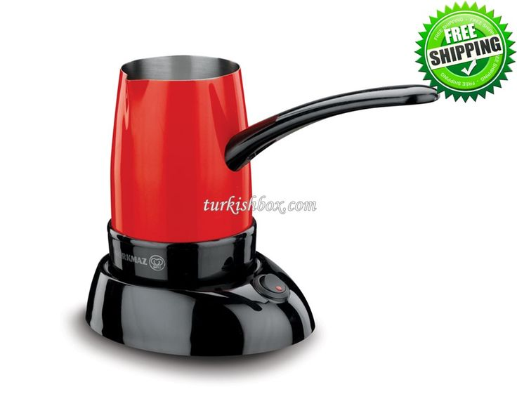 Turkish Coffee Maker - Korkmaz A365 Red - http://turkishbox.com/product/turkish-coffee-maker-korkmaz-a365-red/  #turkishtowels #peshtemals #turkishproducts