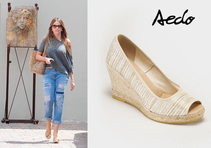 Viste los pies de Sofia Vergara en Primeriti.es