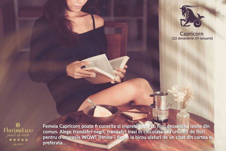 Femeia Capricorn adora sa citeasca, sa se informeze, sa cunoasca. Este o familista convinsa si o femeie foarte loiala. Daruieste-i flori fermecatoare, de gradina, aranjamente jucause si pline de personalitate pentru a o cuceri https://www.floridelux.ro/colectii-florale-unicat-exclusiv-floridelux/flori-zodie-zodiac/flori-zodia-capricorn/