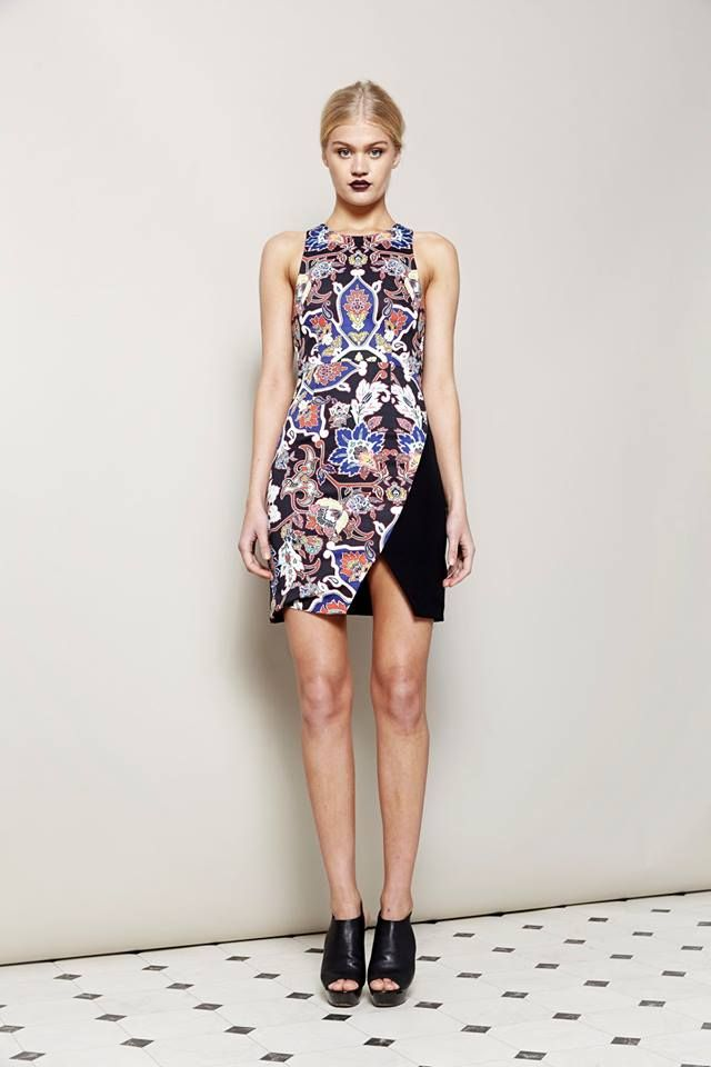 Surface Interest Spliced Bodycon