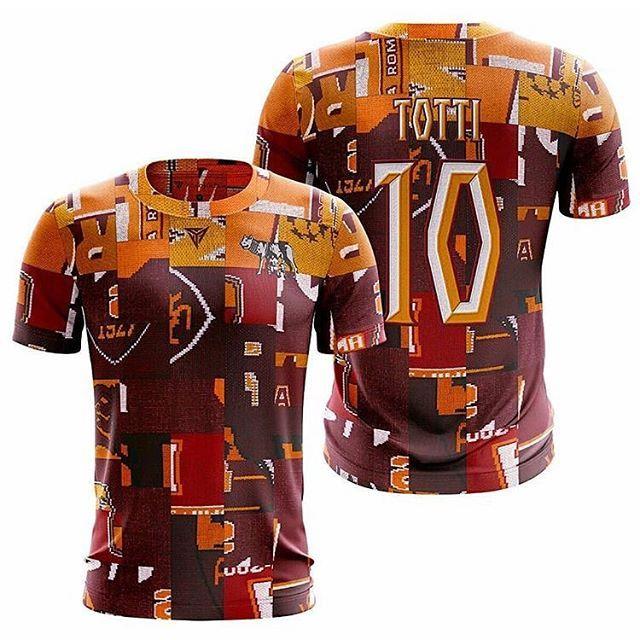 save off 1c867 f23dc The new Roma x @fokohaela Totti drop is sick #roma #asroma ...