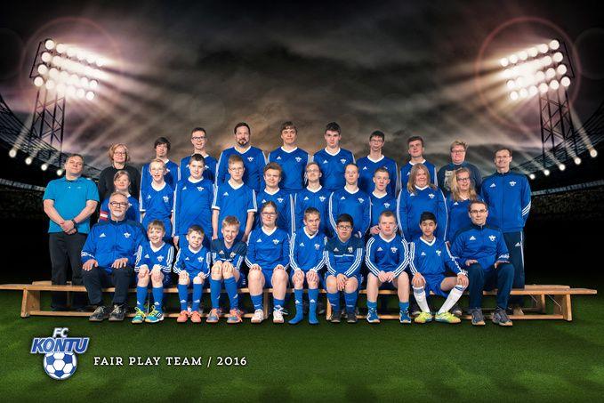 Erityisjalkapallo - Fair Play Team - FC Kontu ry