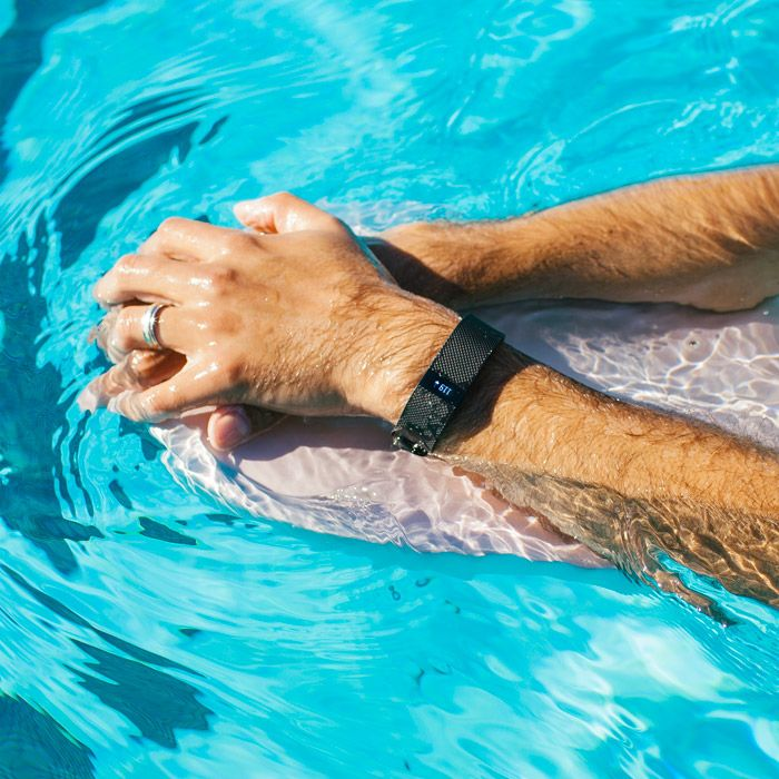Stay swim motivated with the Waterproofed Fitbit Charge HR