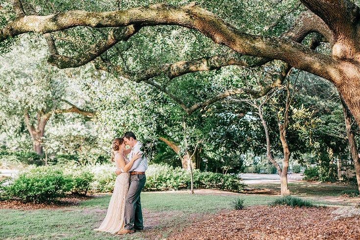 Brianna & Matt's wedding at The River House at Lowndes Grove Plantation in Charleston, South Carolina | Photo by Riverland Studios