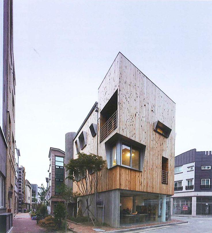 "[Design House Study] ""한국의 젊은건축가가 만든 기능과 디자인이 우수한 다세대 다가구 주택 모음집"" ..."