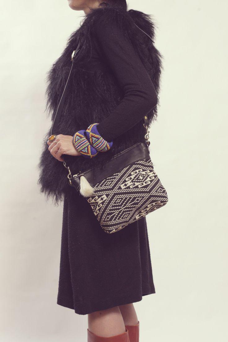 Essaouiria Day Bag - Onyx Tribal