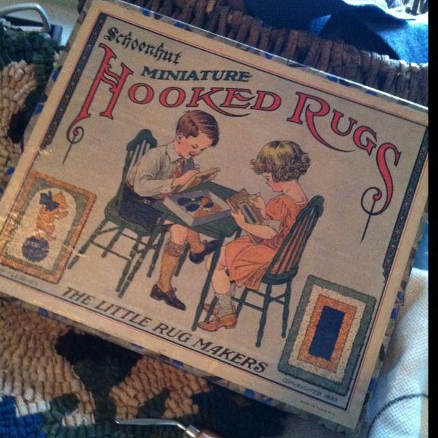 1930 Schoenhut Children S Rug Maker