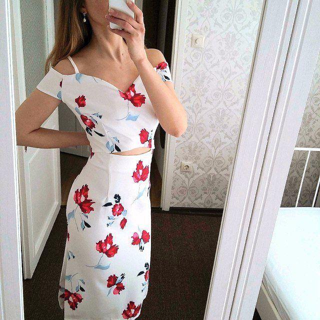 Элегантное платье-карандаш #хочу  http://ali.pub/1jov1g  #реальноефото #алиэкспресс #обзор #платье #белое #лето #хлопок #женскаяодежда #мода #haul #dress #aliexpress #beauty #madeinchina