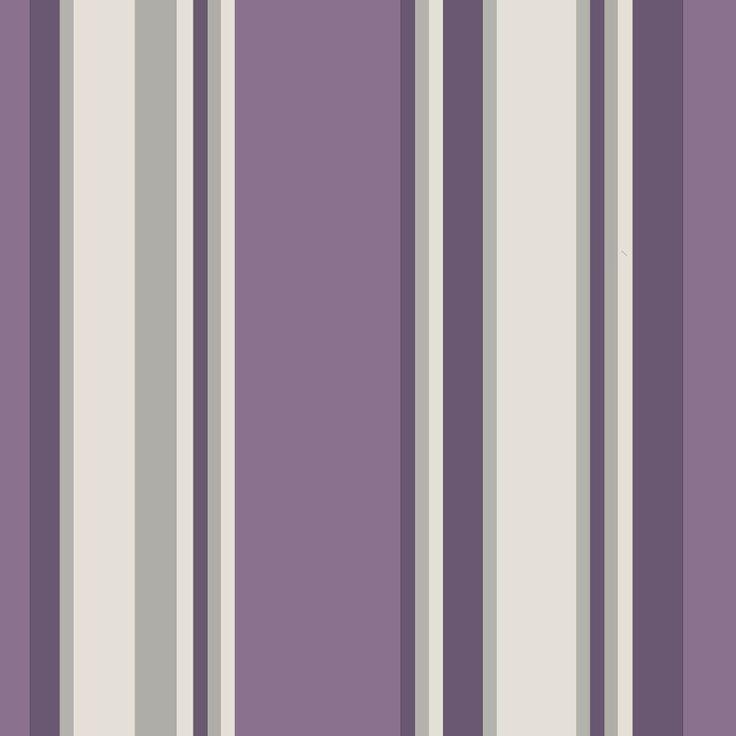 Orla Stripe Heather wallpaper by Arthouse