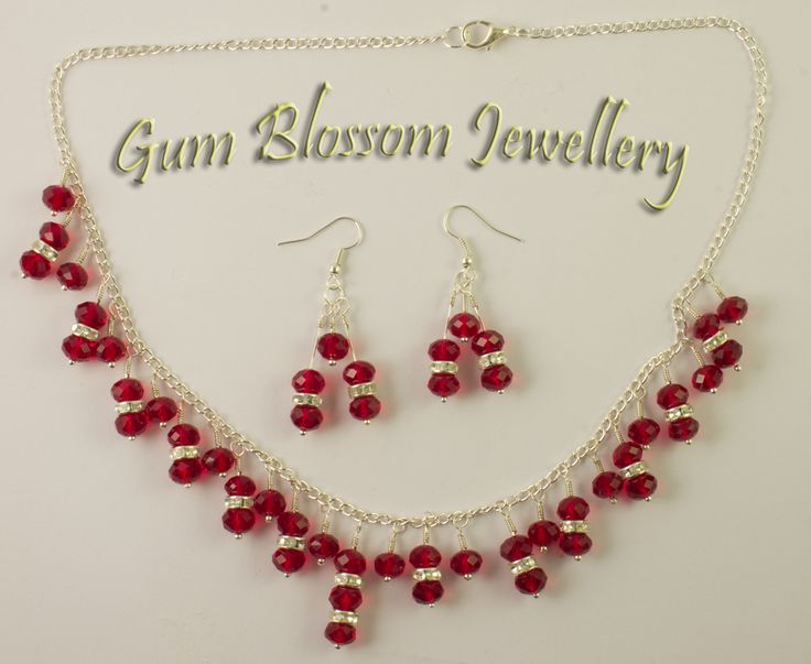I was making this for myself when a customer spotted it. Oh well, swarovski crystals on silver plated chain