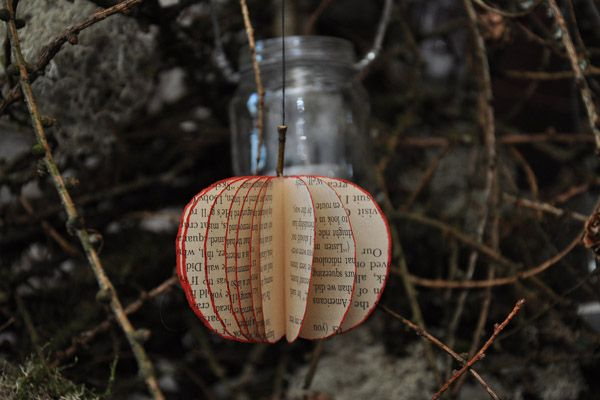 coolest Christmas bauble made for utt cottage Ty Unnos - http://www.underthethatch.co.uk/tyunnos