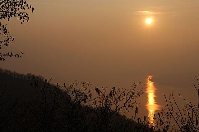 #Sunset from #Belvedere, Perledo