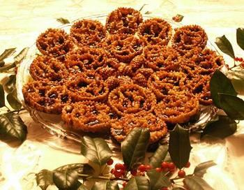 Christmas fritters