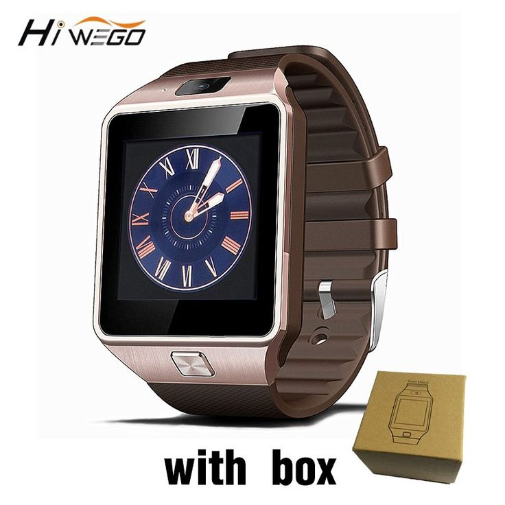 Smart Watch Clock With Sim Card Slot Push Message Bluetooth Connectivity Android Phone Better Than DZ09 Smartwatch Men Watch //Price: $13.64//     #shopping