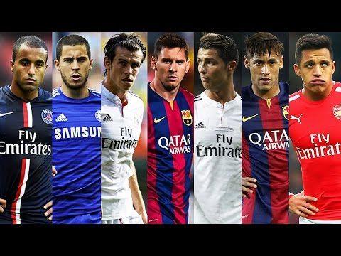 Best Football Skills Mix 2015 ● Ronaldo ● Messi ● Neymar ● Bale ● Hazard ● Sanchez ● Moura ● HD - YouTube