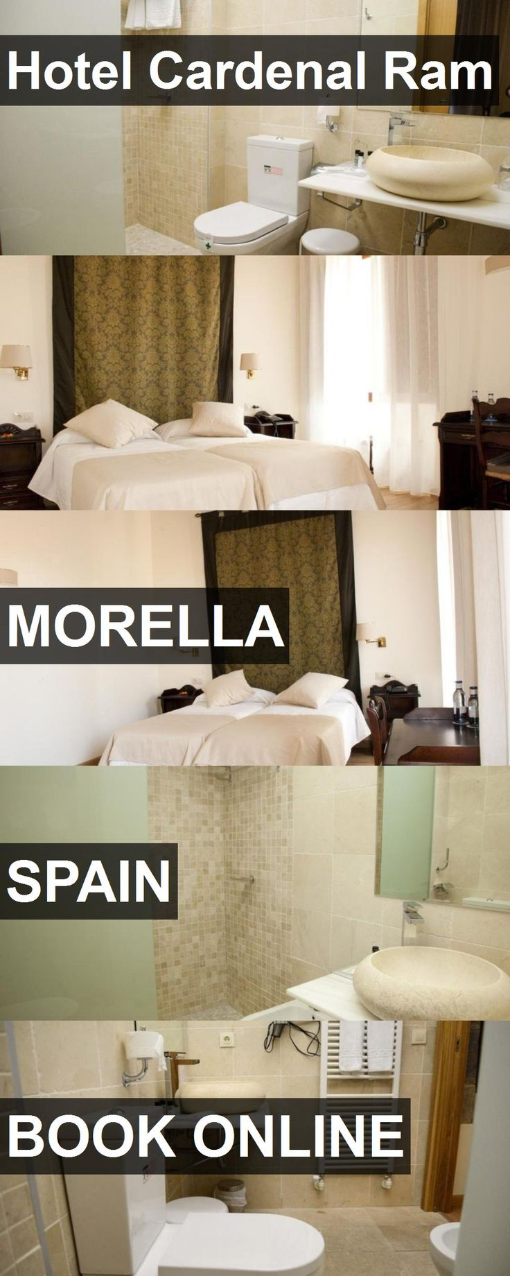 Hotel Hotel Cardenal Ram in Morella, Spain. For more information, photos, reviews and best prices please follow the link. #Spain #Morella #hotel #travel #vacation