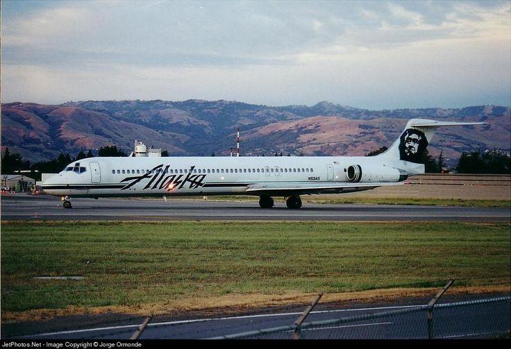 McDonnell Douglas MD-82, Alaska Airlines, N931AS, cn 49232/1178, first flight 12.12.1984, Alaska delivered 20.2.1985, next Perla Airlines (17.11.2009). Foto: San Jose, USA, 6/2000.