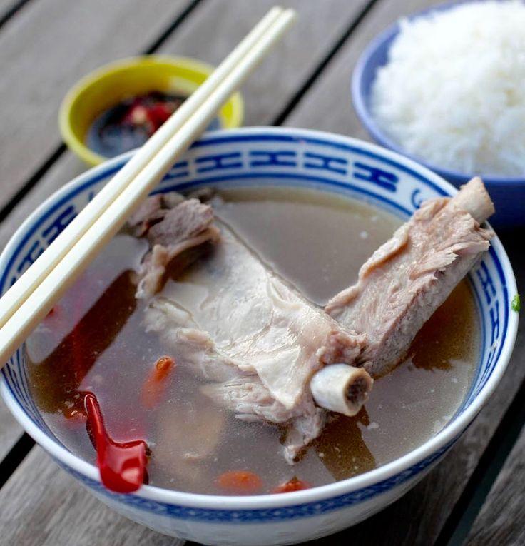 Singapore Teochew style Bak Kut Teh