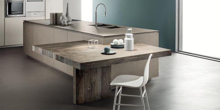 Italian Modern Design Kitchens - Obliqua by Ernestomeda