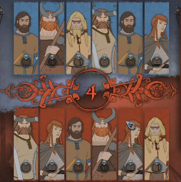 The Banner Saga Factions is a Free to Play, Turn-Based Strategy MMO Game featuring Role-Playing character customization components and Vikings.