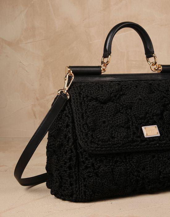 Sicily uncinetto cordonetto Donna - Borse Donna su Dolce&Gabbana Online Store Italia - Dolce & Gabbana Group