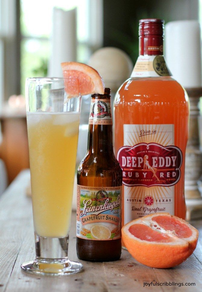 Grapefruit Shandy- an easy summer cocktail. I'm also sharing several cocktails to inspire the mixologist in you.