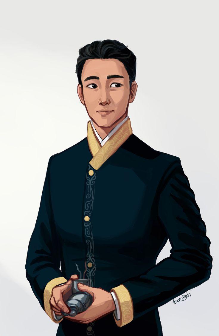 taratjah:     I felt like drawing Kai after I did... - The Lunar Chronicles