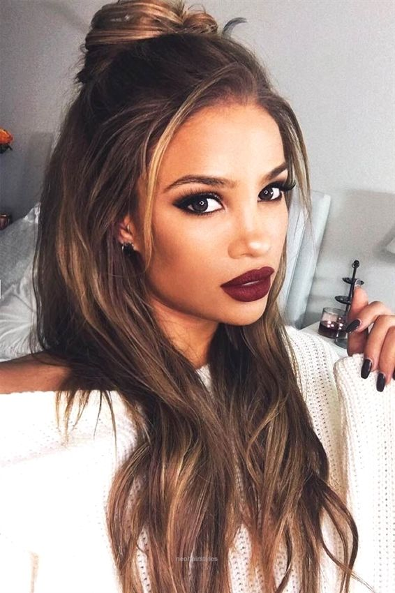 Long Straight Hairstyles 2018 22 Casual Hairstyles Pinterest