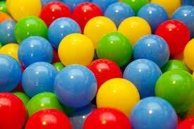 Colourfull bals
