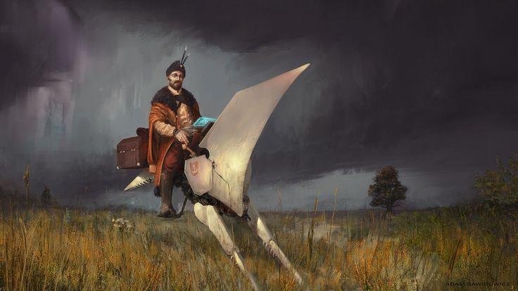 Wild Fields, Adam Dawidowicz on ArtStation at https://www.artstation.com/artwork/lrB6k