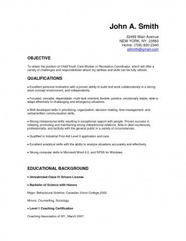 Unique Child Care Resume Cover Letter O Child Teacher Resume Example