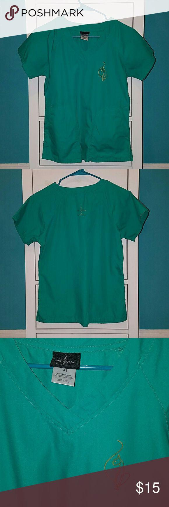 Baby phat scrub top Teal baby phat scrub top for sale Baby Phat Tops Tees - Short Sleeve