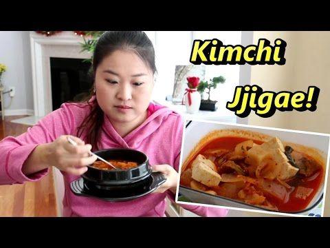 Comida Coreana: como hacer kimchi jjigae - YouTube