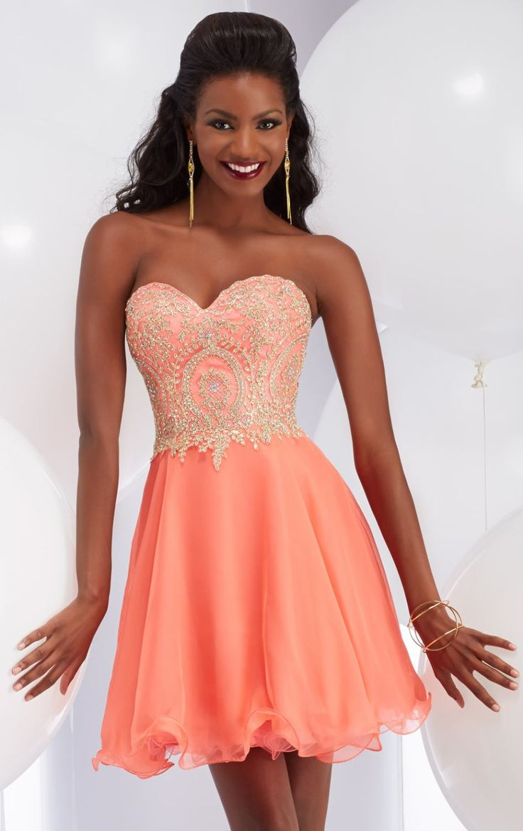 Homecoming Dresses Short Strapless - Eligent Prom Dresses