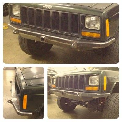 DIY Mojave Front Bumper - Jeep Cherokee XJ - $189
