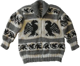 Handmade Cowichan sweaters