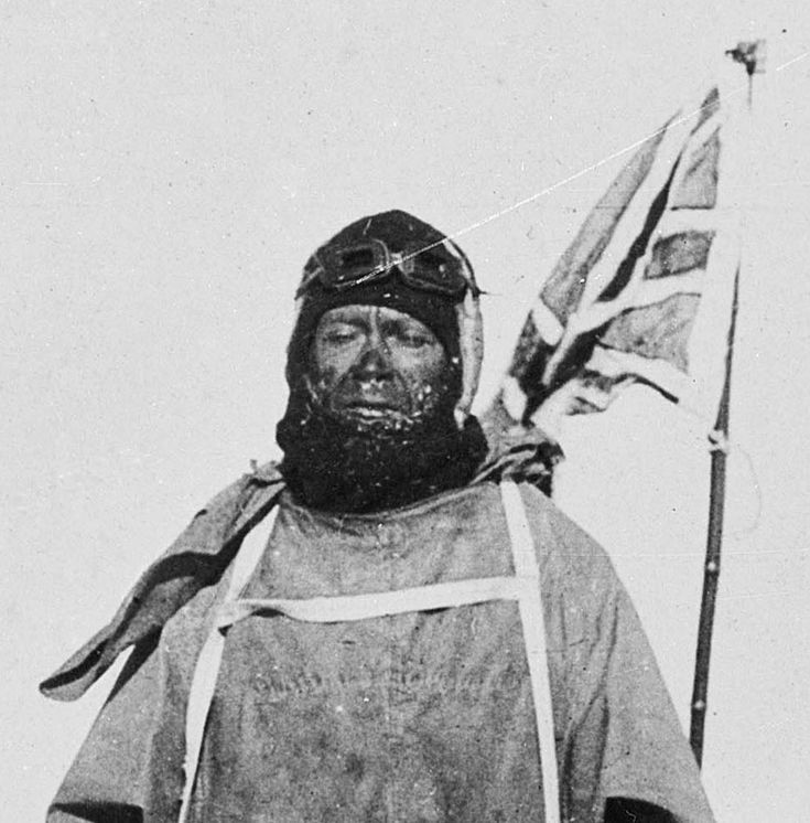 Robert Falcon Scott. Royal Navy Officer who led two expeditions to the Antarctic regions.