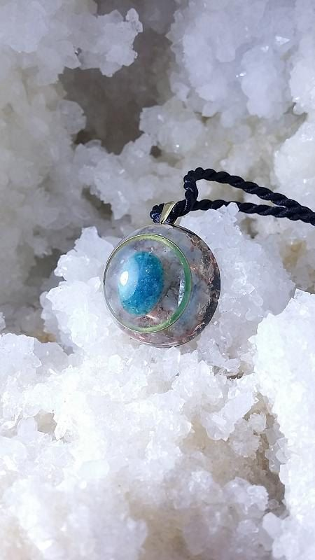 Check out this item in my Etsy shop https://www.etsy.com/listing/231059606/orgone-pendant-wisdom-of-the-inner-peace