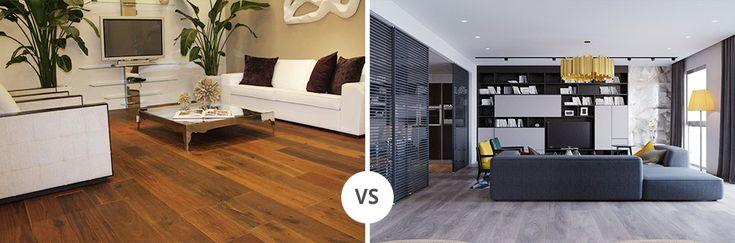 Parquet laminato vs Pavimenti in legno. Quale scegliere?