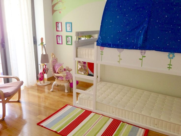 Ikea kura bed makeover for the home pinterest ikea for Kura bed decoration