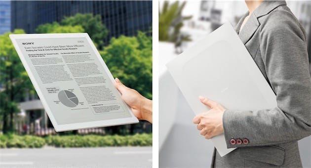 Une très très grande liseuse tactile chez Sony | iGeneration